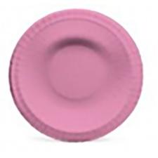 Cromus plato redondo laminado 18 cm. (Paq. x8)