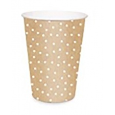 Cromus vaso de papel 240 ml. (Paq. x8)