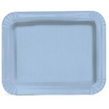 Cromus Bandeja laminada azul 40,3x30,3x1,3 cm Px20