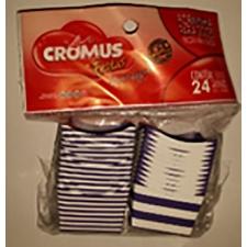 Cromus Molde para dulces Azul/Blanco (Paq. x 50)