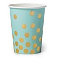 Cromus Vaso de papel 260 ml. (Paq. x 6)