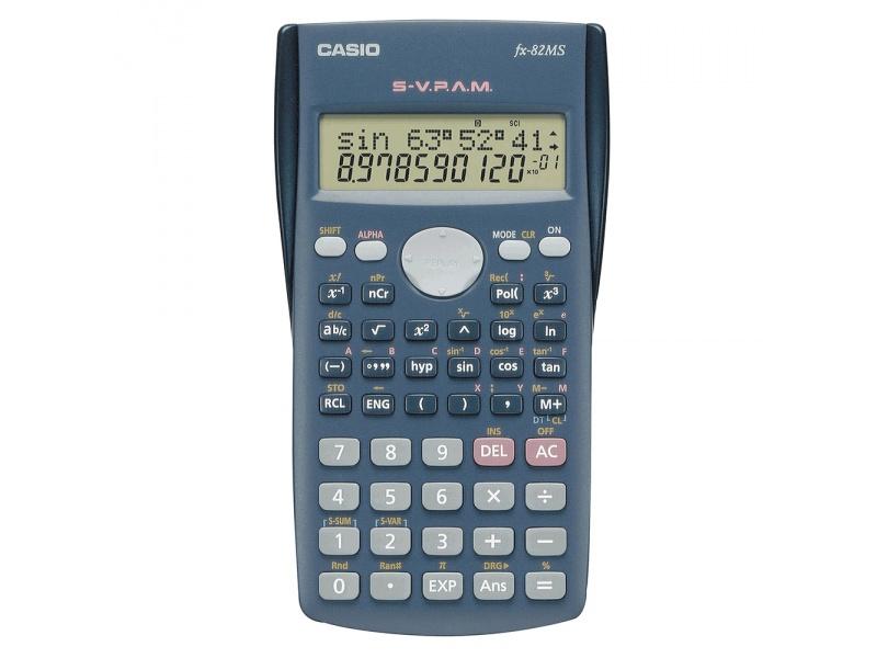 Calculadora CASIO cientifica 10+2 digitos