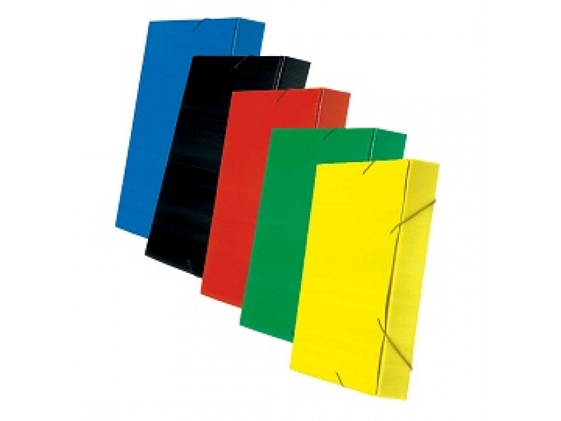 Carpetas con elastico Cartonplast 3 cm