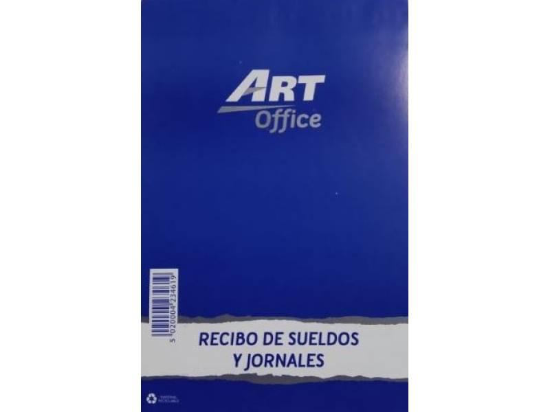 Art-Office Recibo de Sueldos y Jornales (13,5x21 Cm.)