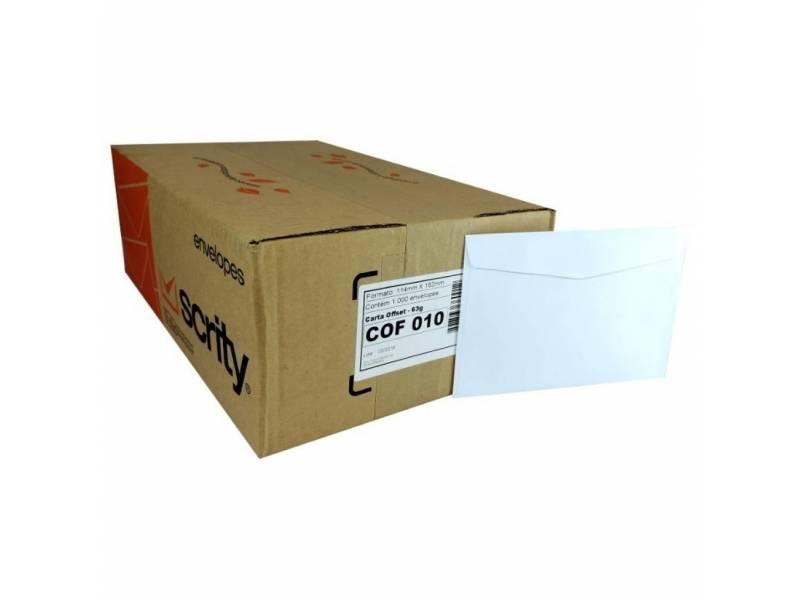 Sobres Comerciales 114x162 Caja x 1000